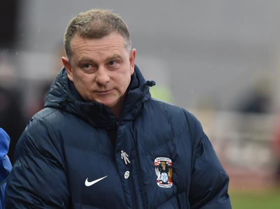 Coventry boss Mark Robins hails Maxime Biamou after victory over Swindon