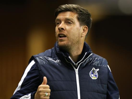 Darrell Clarke delighted with Bristol Rovers character