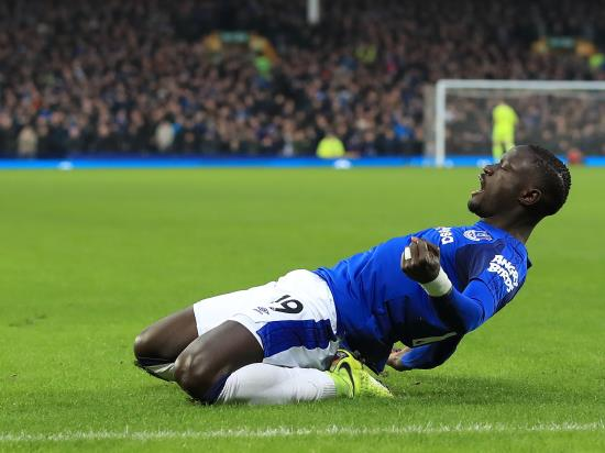 Niasse grabs point for Everton after McCarthy suffers broken leg