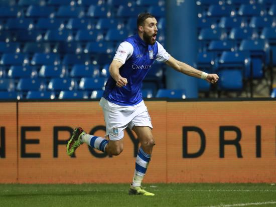 Atdhe Nuhiu at the double for Sheffield Wednesday