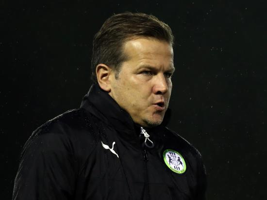 Mark Cooper left frustrated as Rovers denied a penalty at Carlisle