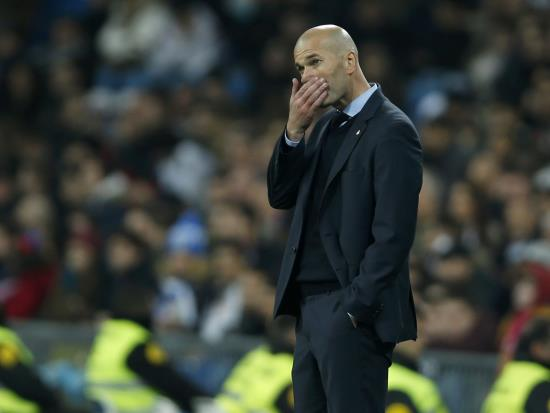 Valencia 1-4 Real Madrid: Real Madrid problems mental rather than physical – Zidane