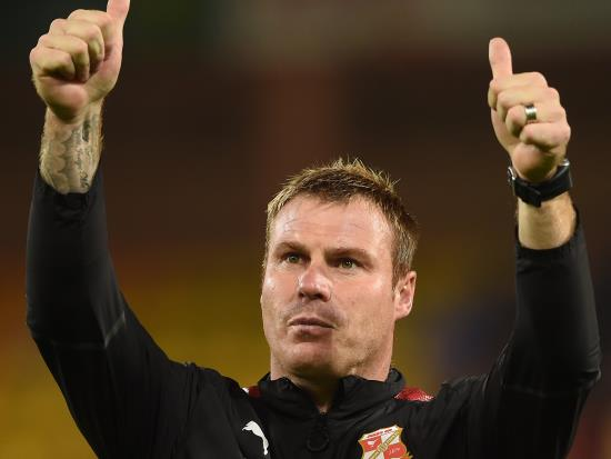 David Flitcroft buoyed by Swindon belief in comeback win over Crewe