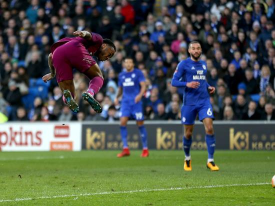 Cardiff City 0 - 2 Manchester City: Kevin De Bruyne and Raheem Sterling seal Manchester City FA Cup progress