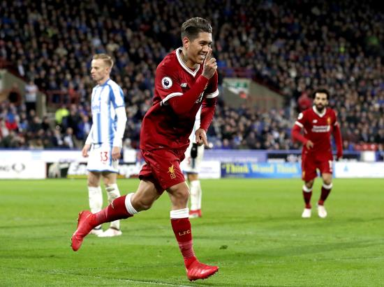 Huddersfield Town 0-3 Liverpool: Liverpool return to winning ways against Huddersfield