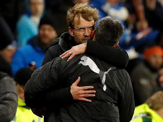 Jurgen Klopp impressed by response from Liverpool at Huddersfield