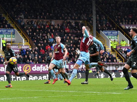 Burnley 1 - 1 Manchester City: City denied as Gudmundsson grabs point for Burnley