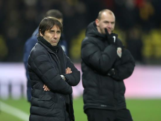 Antonio Conte not worried about losing Chelsea job despite Watford thrashing