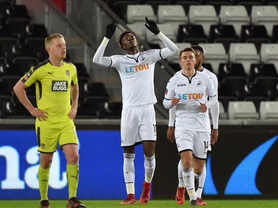 Swansea hit eight past Notts County to record biggest-ever FA Cup win