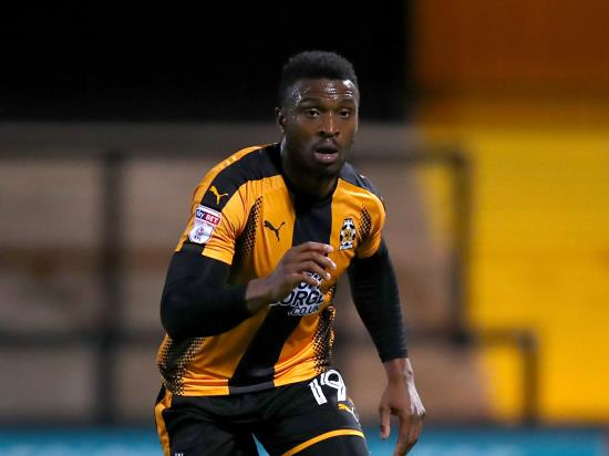 David Amoo could return for Cambridge against Lincoln