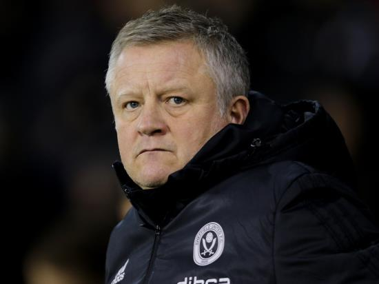 Chris Wilder relieved after Sheffield United return to winning ways