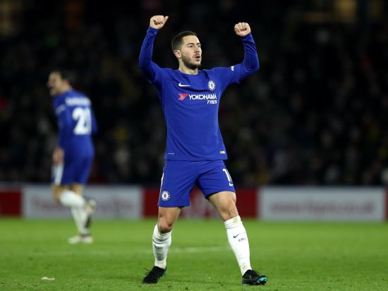 Chelsea 3 - 0 West Bromwich: Hazard scores twice as Chelsea see off West Brom