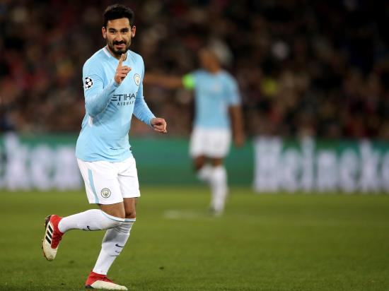 Basel 0 - 4 Manchester City: City rout Basel to all but secure Champions League quarter-final place