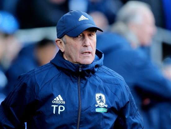 Middlesbrough vs Hull City - No fresh injury concerns for Tony Pulis