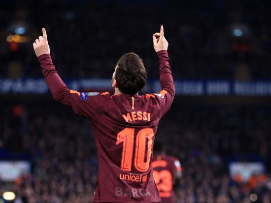 Lionel Messi denies Chelsea as Barcelona snatch Stamford Bridge draw