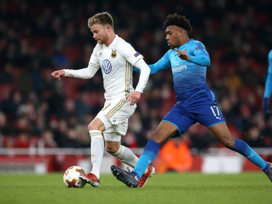 Arsenal 1 - 2 Ostersunds: Ostersund defeat Arsenal in London but Gunners progress in Europe