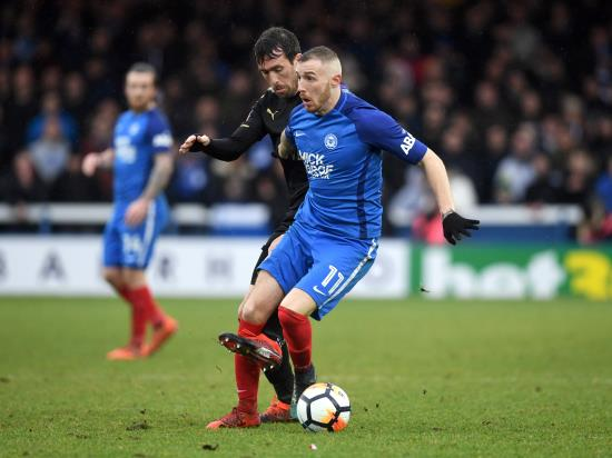 Peterborough monitor Marcus Maddison ahead of AFC Wimbledon clash