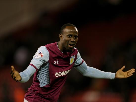 Albert Adomah could return to Aston Villa action in QPR clash