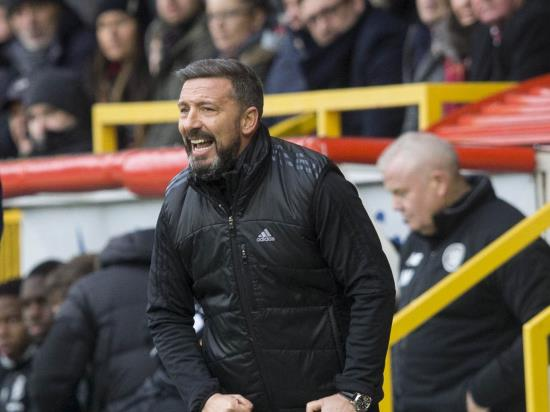 Derek McInnes frustrated after Aberdeen fail to kill off Kilmarnock