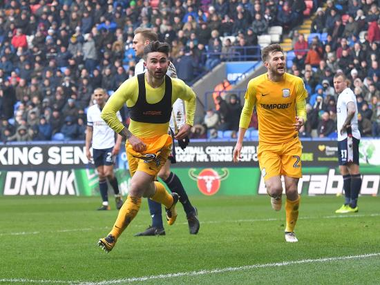 Fit-again Sean Maguire scores twice as Preston come from behind to win at Bolton