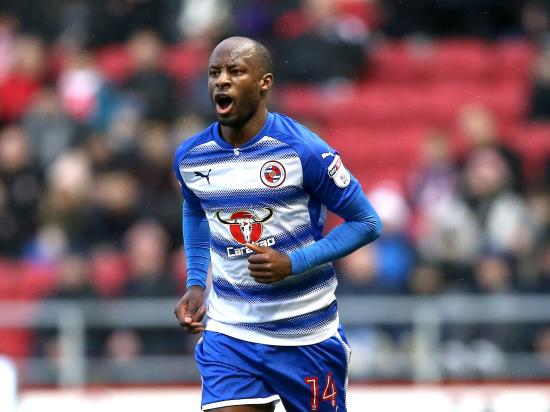 Sone Aluko set to bolster Reading's attacking options