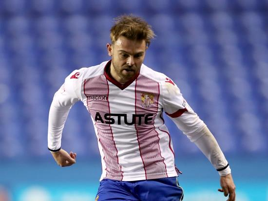 Double boost for Stevenage ahead of Crewe's visit