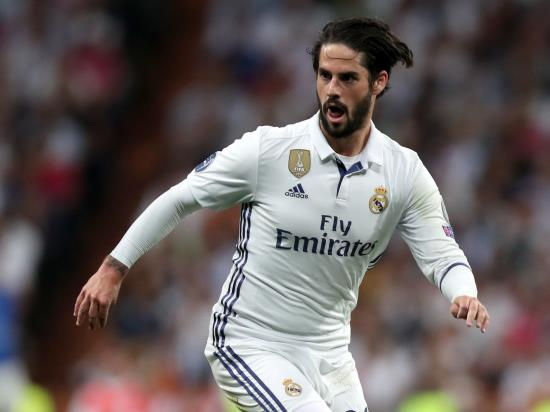 Malaga 1 - 2 Real Madrid: Real Madrid up to third as Isco stars in win over Malaga
