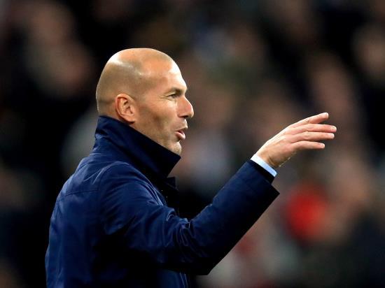 Zinedine Zidane: Still plenty of work for Real Madrid to reach final