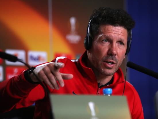 Marseille vs Atletico Madrid - Simeone: Experience will not influence Europa League final