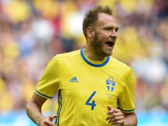 Sweden vs England - Sweden captain Granqvist delays meeting newborn daughter