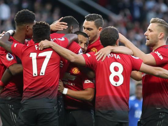 Manchester United 2 - 1 Leicester City: Minimal summer signings but Pogba and Shaw give Mourinho a reason to smile