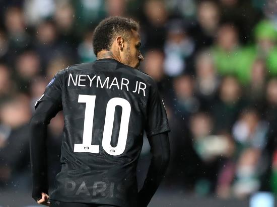 Paris Saint-Germain 3 - 0 Caen: Neymar off the mark as Paris St Germain beat Caen