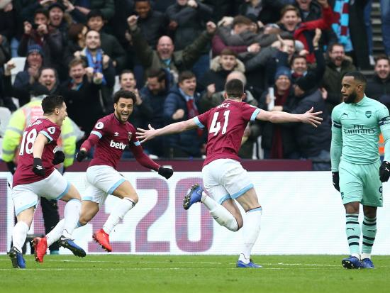 Rice takes centre stage for West Ham as off-colour Arsenal miss Ozil craft