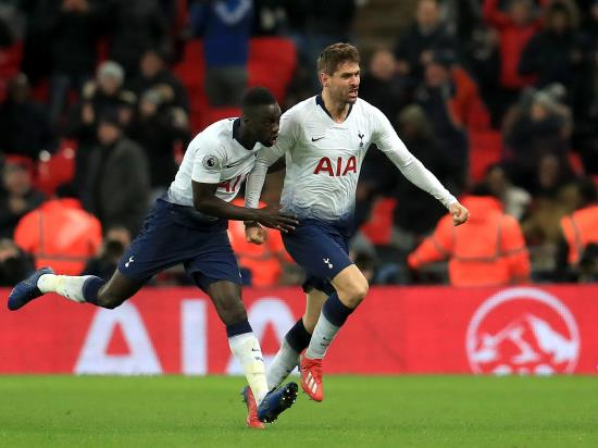 Fernando Llorente atones for earlier miss to fire Tottenham to victory