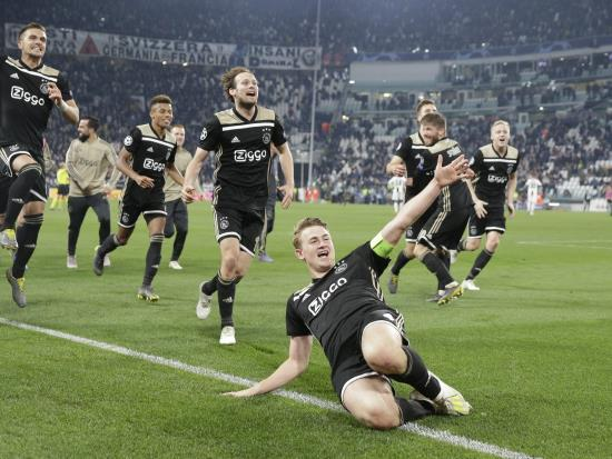 We have shown the world what we can do, says Ajax's Matthijs de Ligt