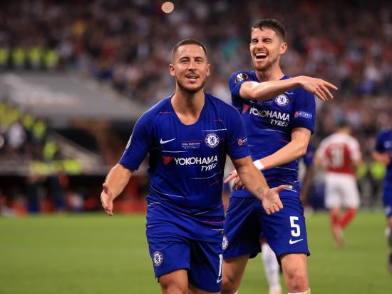 Eden Hazard inspires Chelsea to Europa League glory at Arsenal's expense