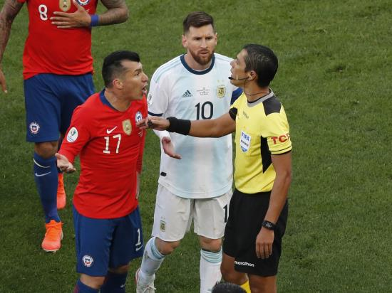 Frustrated Messi launches rant at officials after his Copa America dismissal
