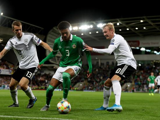 Northern Ireland suffer Euro 2020 qualifying defeat to Germany