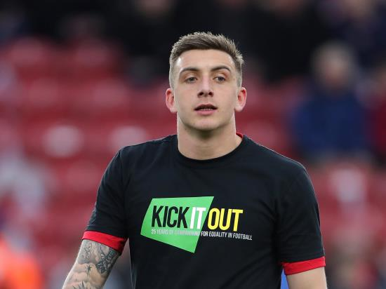 QPR striker Jordan Hugill ruled out of derby clash with Brentford