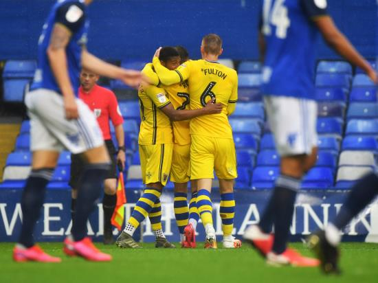 Rhian Brewster scores again as Swansea close on play-offs with win at Birmingham