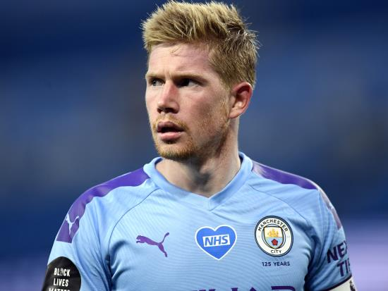Manchester City pair Kevin De Bruyne and Gabriel Jesus to miss Arsenal game