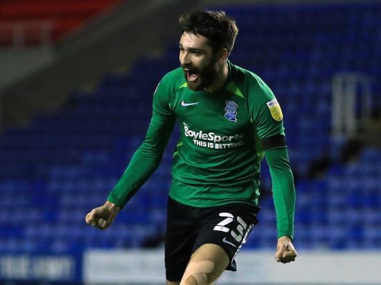 Birmingham midfielder Jon Toral misses out against Stoke with hamstring problem