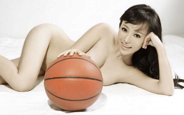 Han Yifei, who went naked after China Men's basketball won during ...