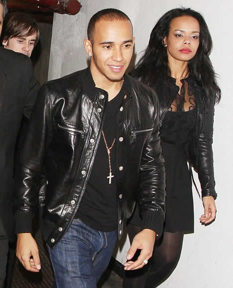 Who's that girl? Lewis Hamilton steps out with a mysterious woman weeks after splitting from Nicole Scherzinger
