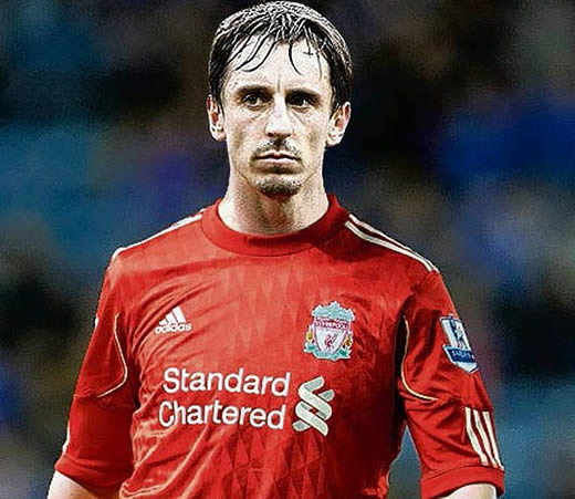 Gary Neville is a secret Scouser - Kop-hate United ace 'from Liverpool'