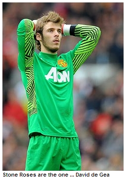 David de Gea's a Red Stone Rose
