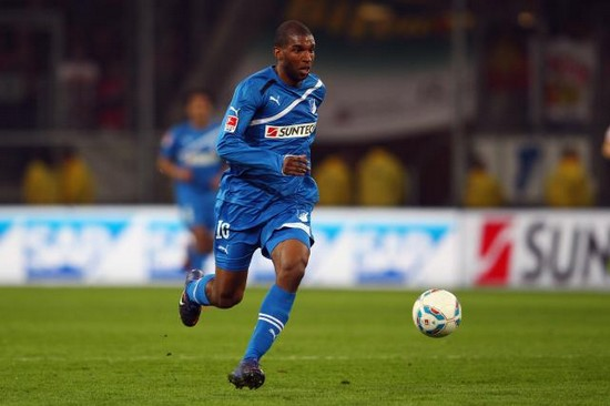 Ryan Babel in action for Hoffenheim