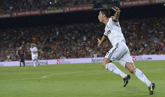 Barcelona 3 Real Madrid 2: Xavi and Messi rule as Vilanova's men earn slim advantage