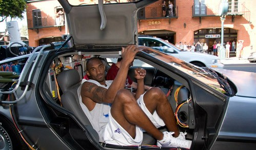 Kobe and his luxury cars