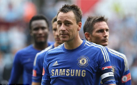 Terry shrugs off injury concerns by begging Di Matteo to let him face Ferdinand at Loftus Road